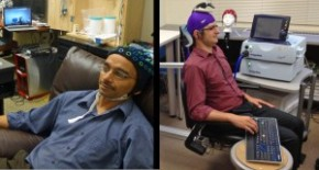 Researcher controls colleague's motions in 1st human brain-to-brain interface | UWToday