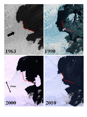 Spy Satellite Data Reveal Antarctic Ice Vulnerability | LiveScience
